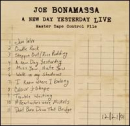 BONAMASSA, JOE - New Day Yesterday Live