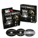 SNIDER, DEE - FOR THE LOVE OF METAL -LIVE-CD+DVD+BLU-RAY
